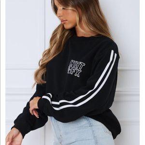 White Fox Boutique Tops - White Fox Boutique Oversized Sweatshirt